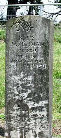 BAUGHMAN (VETERAN), BULIS - Newton County, Arkansas | BULIS BAUGHMAN (VETERAN) - Arkansas Gravestone Photos