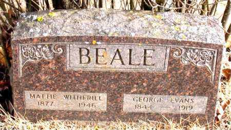 BEALE, MATTIE - Newton County, Arkansas | MATTIE BEALE - Arkansas Gravestone Photos