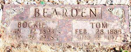 BEARDEN, TOM - Newton County, Arkansas | TOM BEARDEN - Arkansas Gravestone Photos