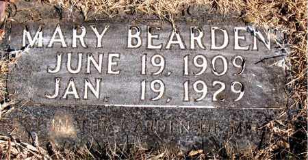 BEARDEN, MARY - Newton County, Arkansas | MARY BEARDEN - Arkansas Gravestone Photos