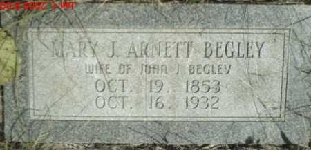 BEGLEY, MARY - Newton County, Arkansas | MARY BEGLEY - Arkansas Gravestone Photos