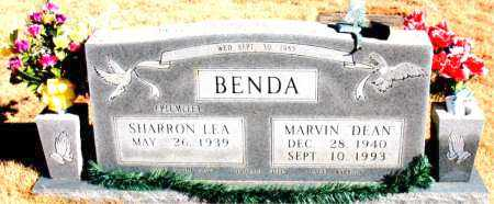 BENDA, MARVIN DEAN - Newton County, Arkansas | MARVIN DEAN BENDA - Arkansas Gravestone Photos