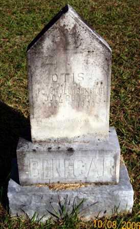 BENEGAR, OTIS - Newton County, Arkansas | OTIS BENEGAR - Arkansas Gravestone Photos