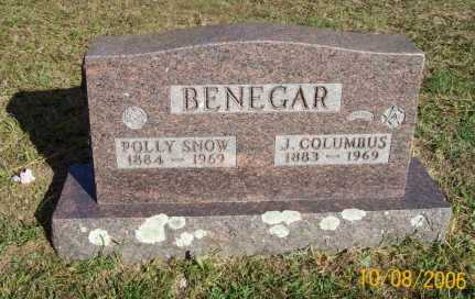 BENEGAR, POLLY - Newton County, Arkansas | POLLY BENEGAR - Arkansas Gravestone Photos
