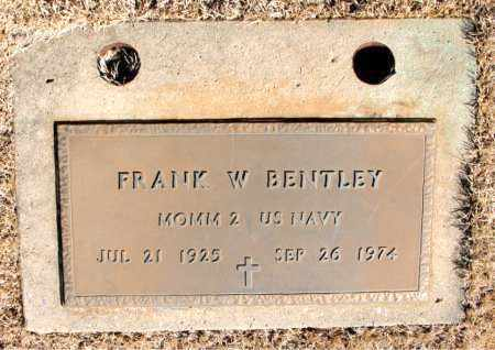 BENTLEY (VETERAN), FRANK W - Newton County, Arkansas | FRANK W BENTLEY (VETERAN) - Arkansas Gravestone Photos