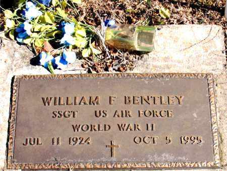 BENTLEY (VETERAN WWII), WILLIAM F - Newton County, Arkansas | WILLIAM F BENTLEY (VETERAN WWII) - Arkansas Gravestone Photos