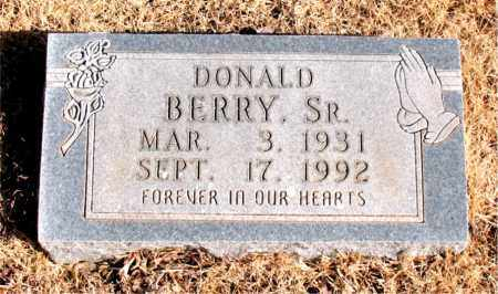 BERRY SR., DONALD - Newton County, Arkansas | DONALD BERRY SR. - Arkansas Gravestone Photos