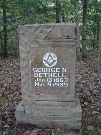 BETHELL, GEORGE NEWTON - Newton County, Arkansas | GEORGE NEWTON BETHELL - Arkansas Gravestone Photos