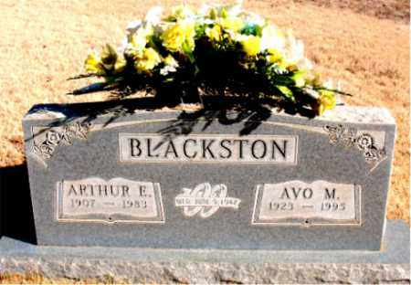 BLACKSTON, AVO M. - Newton County, Arkansas | AVO M. BLACKSTON - Arkansas Gravestone Photos