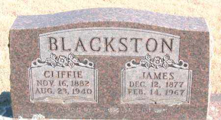 BLACKSTON, CLIFFIE - Newton County, Arkansas | CLIFFIE BLACKSTON - Arkansas Gravestone Photos