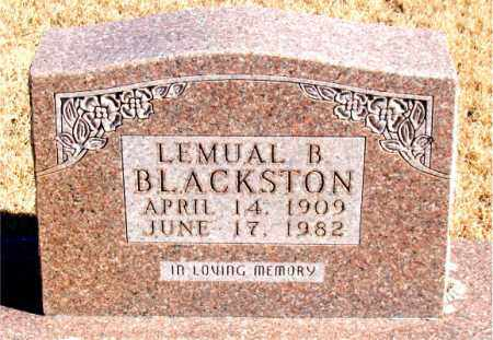 BLACKSTON, LEMUAL B. - Newton County, Arkansas | LEMUAL B. BLACKSTON - Arkansas Gravestone Photos