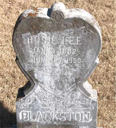 BLACKSTON, ROSIE LEE - Newton County, Arkansas | ROSIE LEE BLACKSTON - Arkansas Gravestone Photos