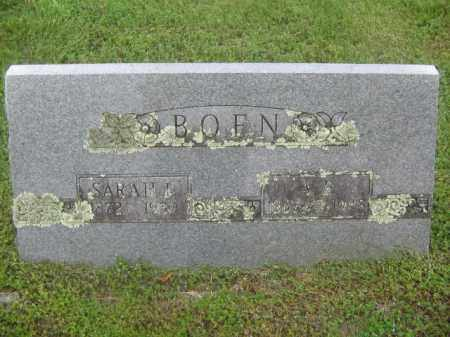 BOEN, A. R. - Newton County, Arkansas | A. R. BOEN - Arkansas Gravestone Photos