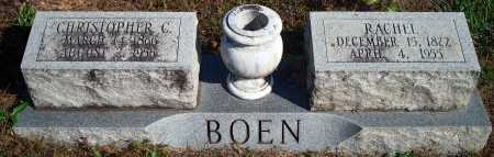 BOEN, CHRISTOPHER C. - Newton County, Arkansas | CHRISTOPHER C. BOEN - Arkansas Gravestone Photos