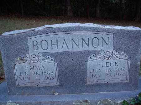 BOHANNON, ELECK - Newton County, Arkansas | ELECK BOHANNON - Arkansas Gravestone Photos