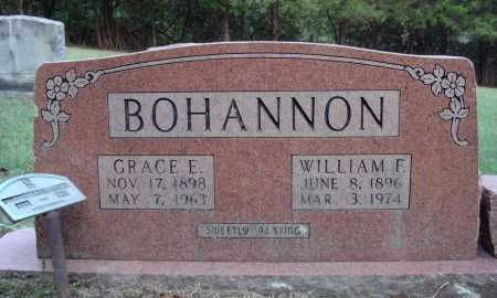 BOHANNON, WILLIAM F. - Newton County, Arkansas | WILLIAM F. BOHANNON - Arkansas Gravestone Photos