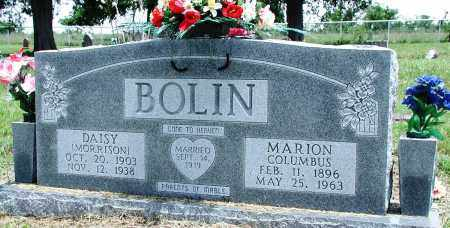 MORRISON BOLIN, DAISY - Newton County, Arkansas | DAISY MORRISON BOLIN - Arkansas Gravestone Photos