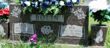 BOLIN, BEN - Newton County, Arkansas | BEN BOLIN - Arkansas Gravestone Photos
