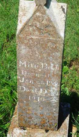 BOLIN, MITIE - Newton County, Arkansas | MITIE BOLIN - Arkansas Gravestone Photos