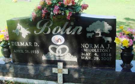 BOLIN, NORMA J - Newton County, Arkansas | NORMA J BOLIN - Arkansas Gravestone Photos