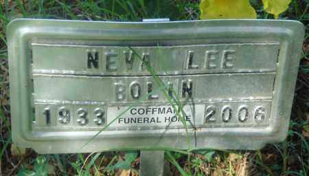 BOLIN, NEVA LEE - Newton County, Arkansas | NEVA LEE BOLIN - Arkansas Gravestone Photos