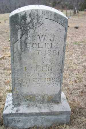 BOLIN, MARTHA ELLEN - Newton County, Arkansas | MARTHA ELLEN BOLIN - Arkansas Gravestone Photos