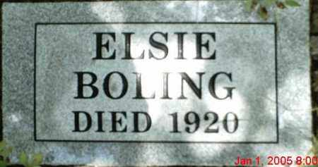 BOLING, ELSIE - Newton County, Arkansas | ELSIE BOLING - Arkansas Gravestone Photos
