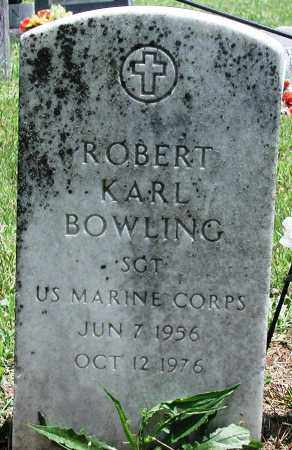 BOWLING (VETERAN), ROBERT KARL - Newton County, Arkansas | ROBERT KARL BOWLING (VETERAN) - Arkansas Gravestone Photos