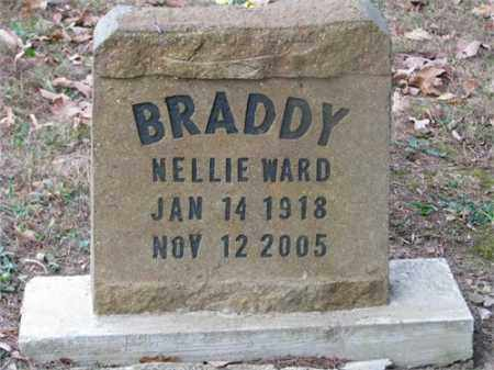 WARD BRADDY, NELLIE - Newton County, Arkansas | NELLIE WARD BRADDY - Arkansas Gravestone Photos