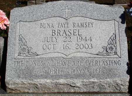 RAMSEY BRASEL, BUNA FAYE - Newton County, Arkansas | BUNA FAYE RAMSEY BRASEL - Arkansas Gravestone Photos