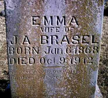 BRASEL, EMMA - Newton County, Arkansas | EMMA BRASEL - Arkansas Gravestone Photos