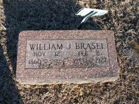 BRASEL, WILLIAM J. - Newton County, Arkansas | WILLIAM J. BRASEL - Arkansas Gravestone Photos