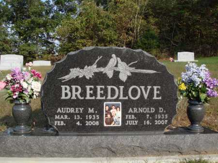 BREEDLOVE, AUDREY M. - Newton County, Arkansas | AUDREY M. BREEDLOVE - Arkansas Gravestone Photos