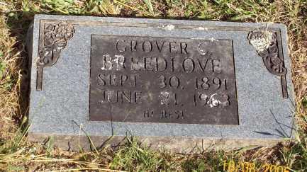 BREEDLOVE, GROVER C. - Newton County, Arkansas | GROVER C. BREEDLOVE - Arkansas Gravestone Photos