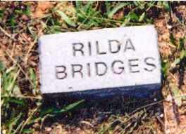 BRIDGES, RILDA - Newton County, Arkansas | RILDA BRIDGES - Arkansas Gravestone Photos