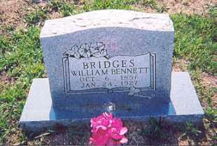 BRIDGES, WILLIAM BENNETT - Newton County, Arkansas | WILLIAM BENNETT BRIDGES - Arkansas Gravestone Photos