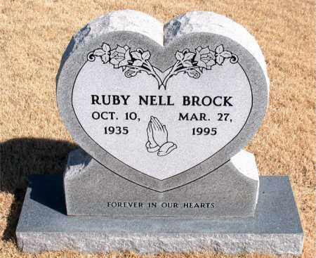 BROCK, RUBY NELL - Newton County, Arkansas | RUBY NELL BROCK - Arkansas Gravestone Photos