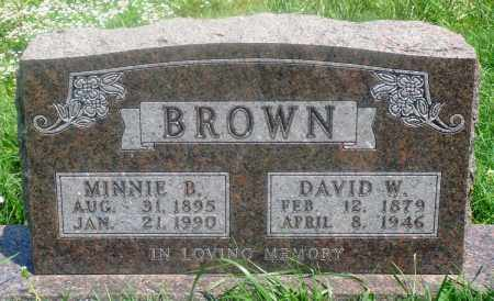 BROWN, MINNIE B - Newton County, Arkansas | MINNIE B BROWN - Arkansas Gravestone Photos