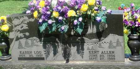 BRUCE, KENT ALLEN - Newton County, Arkansas | KENT ALLEN BRUCE - Arkansas Gravestone Photos
