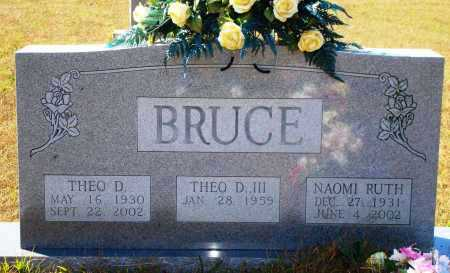 BRUCE, THEO D. - Newton County, Arkansas | THEO D. BRUCE - Arkansas Gravestone Photos