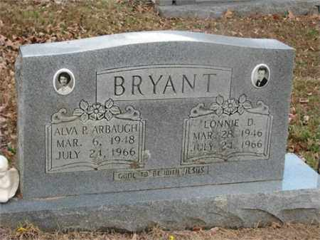BRYANT, ALVA P. - Newton County, Arkansas | ALVA P. BRYANT - Arkansas Gravestone Photos