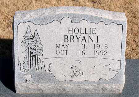 BRYANT, HOLLIE - Newton County, Arkansas | HOLLIE BRYANT - Arkansas Gravestone Photos