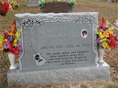 YOUNGBLOOD, LORETTA - Newton County, Arkansas | LORETTA YOUNGBLOOD - Arkansas Gravestone Photos