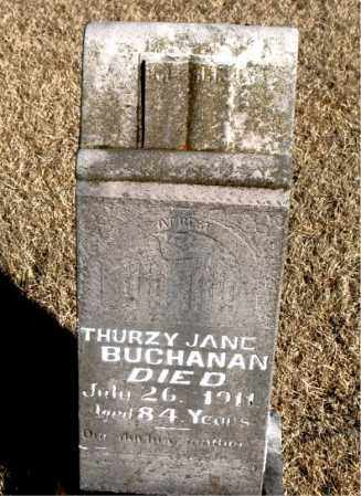 BUCHANAN, THURZY JANE - Newton County, Arkansas | THURZY JANE BUCHANAN - Arkansas Gravestone Photos