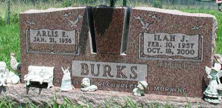 BURKS, ILAH J - Newton County, Arkansas | ILAH J BURKS - Arkansas Gravestone Photos