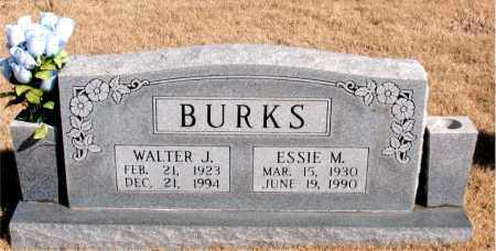 BURKS, ESSIE M. - Newton County, Arkansas | ESSIE M. BURKS - Arkansas Gravestone Photos