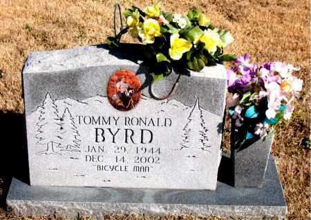 BYRD, TOMMY RONALD - Newton County, Arkansas | TOMMY RONALD BYRD - Arkansas Gravestone Photos
