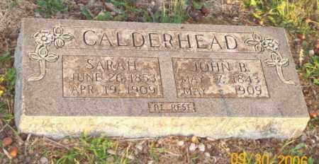 CALDERHEAD, JOHN B. - Newton County, Arkansas | JOHN B. CALDERHEAD - Arkansas Gravestone Photos