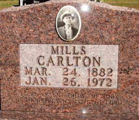 CALTON, MILLS - Newton County, Arkansas | MILLS CALTON - Arkansas Gravestone Photos