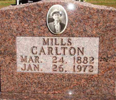 CARLTON, MILLS - Newton County, Arkansas | MILLS CARLTON - Arkansas Gravestone Photos